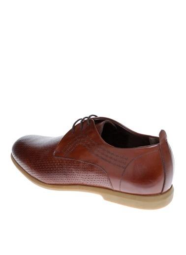 Cotton Bar Bağcıklı Ayakkabı Kahve